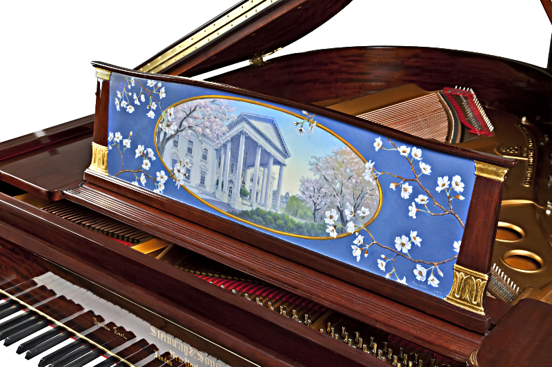 First Ladies Piano- detail with music desk