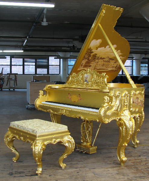 Doheny complete at the Steinway Factory