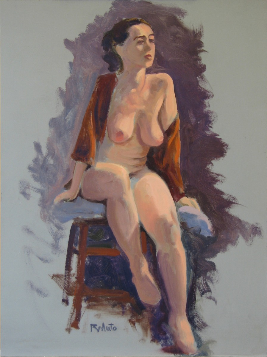 """Michelle"" oil on panel; 16"" x12"" SOLD"