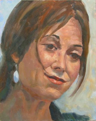 "Portrait study- ""Elizabeth"""
